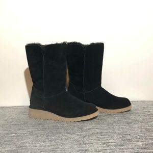 Koolaburra by Ugg Black Suede Boots